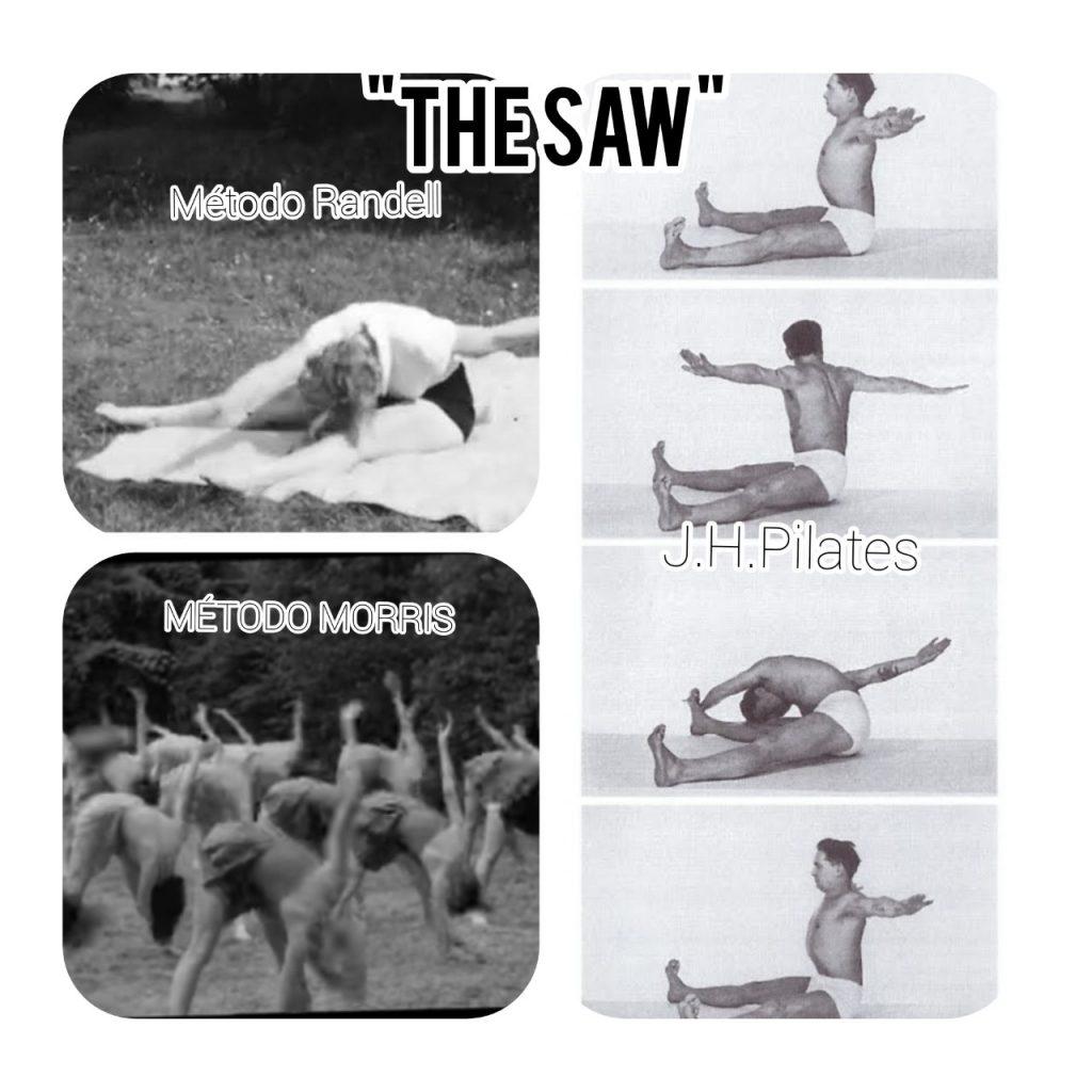 similitudes entre ejercicios Morris, Randell y Pilates